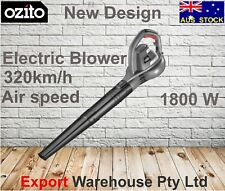 Ozito 1800W Electric Blower - Air speed 320km/h