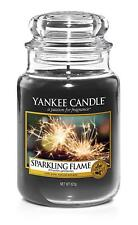 Yankee Candle Large Jar - sparkling flame htf birthday valentines 1