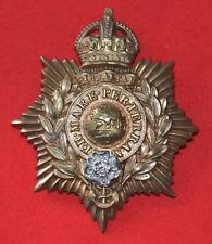British Army. Royal Marines Genuine Chatham Bandsman's Helmet Plate Badge