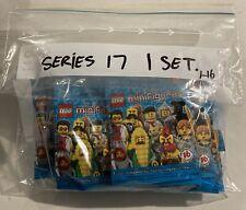 LEGO 71018 Minifigures Series 17 Complete Set Of 16