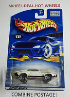 HOT WHEELS (2000) OLDS 442 VERY RARE COLLECTIBLE NO.242 HTF MOC!