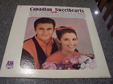 "Canadian Sweethearts ""Self-Titled"" A&M ROCKABILLY LP BOB REGAN/LUCILLE STARR"