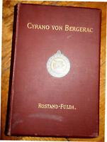 Buch,Cyrano de Bergerac (Rostand),Übers. Fulda ,Komödie 1899,
