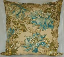 "Cushion Cover country cottage beige Cotton Home Sofa Décor Zip 18"" Pillow Case"