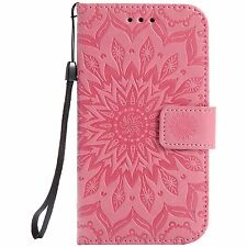 Leather Wallet Stand Card Case Cover For Samsung Galaxy Grand Neo Plus / I9060