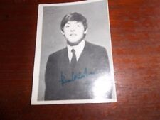THE BEATLES TOPPS T.C.G. GUM TRADING CARD BLACK & WHITE 3rd SERIES CARD NO. 160
