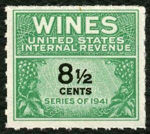 #RE184 8 1/2c Wines, Mint NGAI NH [3] ANY 4=