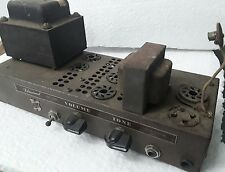 Old ( Bell ?) Filmosound Tube Amplifier Big Power Transformer