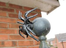 Sneaky Magnetic  Black Spider Geocache Container logged ready to hide CREEPY