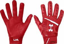 UNDER ARMOUR BRYCE HARPER BASEBALL BATTING GLOVES YOUTH MEDIUM PAIR SET RED YMD