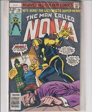 THE MAN CALLED NOVA - 1ST SERIES - ISSUE 20 -JUL 1978 - Near Mint