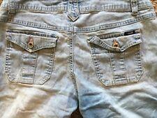 Angels Denim Shorts, Junior's Size 9, Flap Pockets