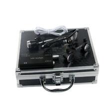 25x420mm Dental Surgical Loupes With Led Headlight Lamp Aluminum Case Black