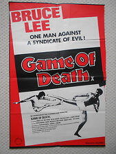 Bruce Lee Original UK Quad Film Posters