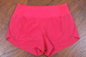 Lululemon Real Quick Short Perforated Fuchsia Pink Women's 8