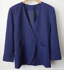 VESTEviolet luxe vintage '90 marque japonaise CLAUDE LEMA Itokin T38 oversize