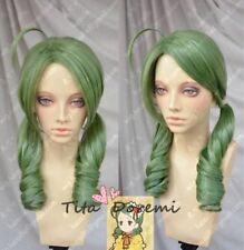 Rozen Maiden kanaria Green Long fashion party cosplay wig Anime hair