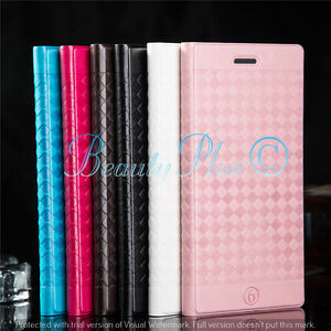 LEATHER COVER CASE FLIP WALLET FOR APPLE iPHONE & SAMSUNG GALAXY MOBILE PHONES*