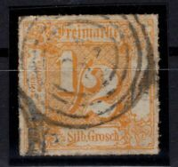 T4293/ GERMANY – THURN & TAXIS – MI # 47 USED – CV 175 $