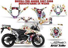 AMR RACING DEKOR GRAPHIC KIT HONDA CBR250,500R,600RR,1000RR ED-HARDY LOVEKILLS B
