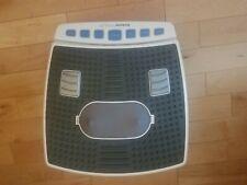 Brookstone Thera Spa Oscillating Vibrating Heated Shiatsu Foot Massager