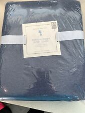 Pottery Barn Kids Cotton Jersey Twin Duvet Cover Navy