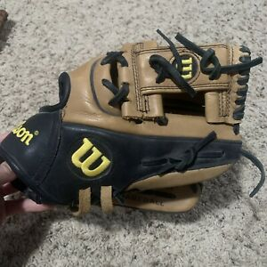 """WILSON A1K 1786-0 11.5"""" iweb  Ecco Leather Baseball Glove Right Handed Thrower"""