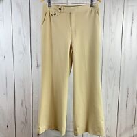 Lauren Ralph Lauren Women's 10P Dress Pants Tan Beige Relaxed Leg $99.50 Retail