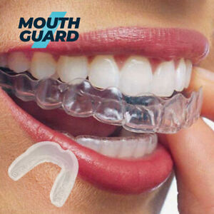 Gum shield mouth guard Boil bite rugby boxing baseball hockey karate all sports