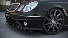 carbon Spoilerlippe Schwert Mercedes E Klasse W211 AMG Bj. 06-09 Facelift CUP