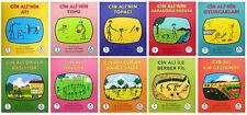 """Turkce Klasik Çocuk Kitabi  """" CIN ALI SERISI -10 Kitap-Rasim Kaygusuz """"  2013"""