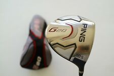 ping g20 10.5* driver...reg flex graphite with headcover…vgc...