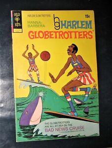 Gold Key Hanna Barbera Harlem Globetrotters #1 cARTOON COMIC  Joe Namath cfold