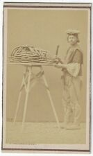 New ListingPascal Sebah Ethnographic Cdv Turkish Pretzel Vendor seller Constantinople 1870s