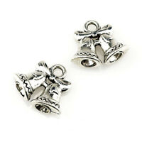 22423 30pcs/lot Vintage Bell Charm Alloy Charm Diy Christmas Jewelry Pendant