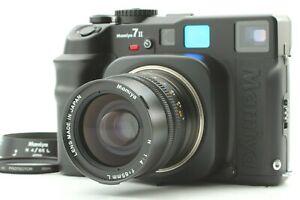 【MINT+++ w/  Strap】 Mamiya 7 II Medium Format Film Camera N 65mm f/4 Lens Japan