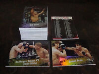 2010 Topps UFC---Main Event---Lot Of 74---Dupes---Plus 2 Gold Cards---NrMt