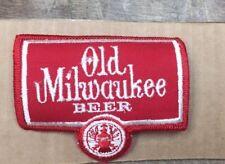 Vintage Beer Patch OLD MILWAUKEE BEER NOS