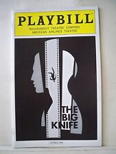 THE BIG KNIFE Playbill BOBBY CANNAVALE / RICHARD KIND / CHIP ZIEN NYC 2013