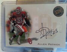 2008 Press Pass Signings #PPS-AP Allen Patrick, Oklahoma Sooners