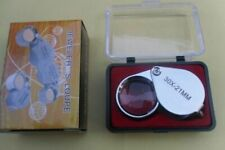 Jewelers Loupe Folding Pocket Jewelry Magnifying 30X Glass Eye Magnifier 21mm