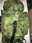 Vintage Gander Mountain Camouflage Backpack Woodland Frog skin Style 80s Huntjng