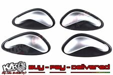 Holden Silver Satin Chrome Inner Door Handle Kit Interior VX VY VZ SS WK WL KLR