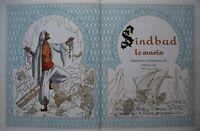 Ansaldi - Sindbad le marin. Avec dessin original dédicacé, signé. Ed. J.Pardo.