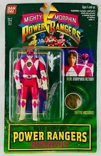Vintage MIGHTY MORPHIN POWER RANGERS PINK KIMBERLY BANDAI Figure Toy No Reserve!