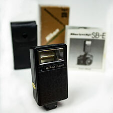 Nikon Speedlight SB-E flash gun EM FG-20 - excellent, boxed, tested & working