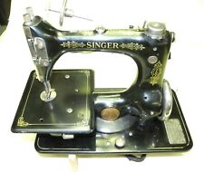 Vintage Singer Sewing Machine Model 24, 1919, Very Nice Running Condition, Clean