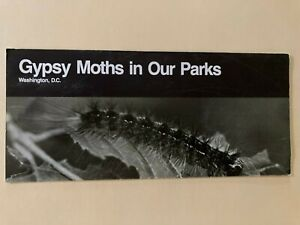 1990 OLD Special Issue GYPSY MOTHS IN OUR NATIONAL PARK S Unigrid Brochure
