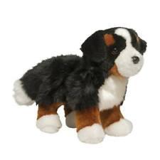 "Stevie Douglas 10"" long plush Bernese Mountain Dog stuffed animal cuddle toy"