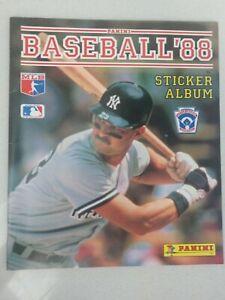 Panini Baseball '88 Sticker Card Album Don Mattingly Cover 1988